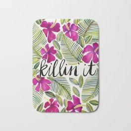Killin' It – Tropical Pink Bath Mat