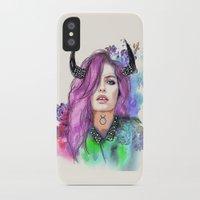 taurus iPhone & iPod Cases featuring Taurus by Sara Eshak