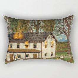 eyemerican 19th century Rectangular Pillow