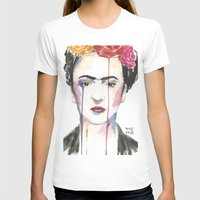 frida T-shirts featuring Frida by SirScm