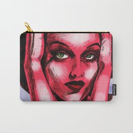 Pop Art Hedy Carry-All Pouch