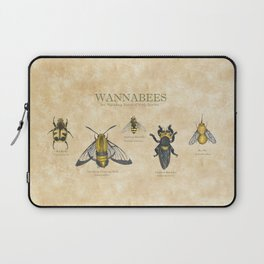 wannabees: Bee Mimicking Inects Laptop Sleeve