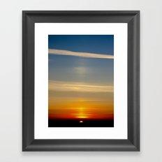 Sunset (1) Framed Art Print