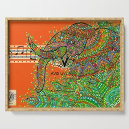 Elephant Song Serving Tray