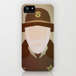 Hank Larsson iPhone Case