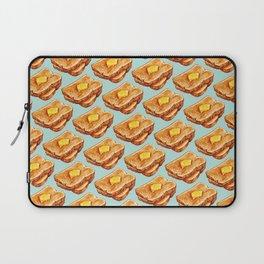 Toast Pattern Laptop Sleeve