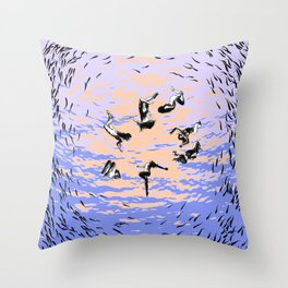 asc 867 - Les chants de l'aube (Hole in the sky) Throw Pillow