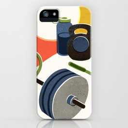 Gym Workout iPhone Case