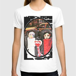 Two Girls Frenemies T-shirt