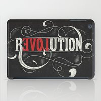 revolution iPad Cases featuring Revolution by Mobe13