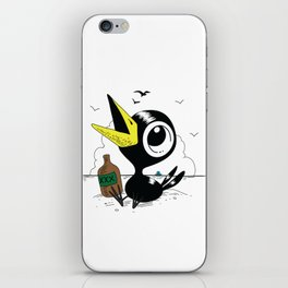Drinky Crow! iPhone Skin