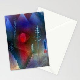 Paul Klee Glance of a Landscape Stationery Cards