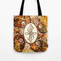 beth hoeckel Tote Bags featuring Beth (#TheAccessoriesSeries) by Wayne Edson Bryan