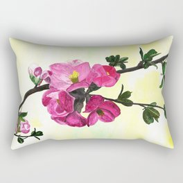 Blossom Spray Rectangular Pillow