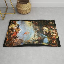 The King Governs by Himself by Charles Le Brun (1661) Rug