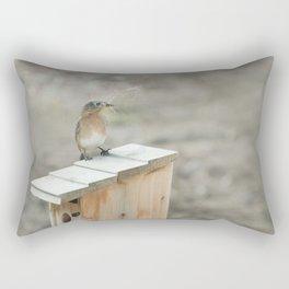 Build Your Nest Rectangular Pillow