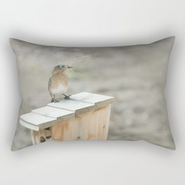 Build Your Nest Rectangular Pillow