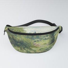 "Camille Pissarro ""Le grand noyer dans le pré, Éragny"" (""The big walnut in the meadow, Éragny"") Fanny Pack"