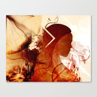 mother of dragons Canvas Prints featuring Mother of Dragons by Micheal Calcara