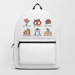 Just Married Backpack