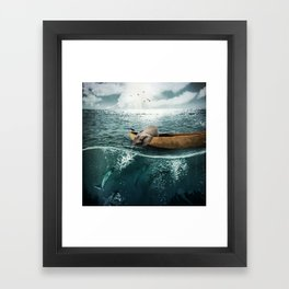 One summer day... Framed Art Print
