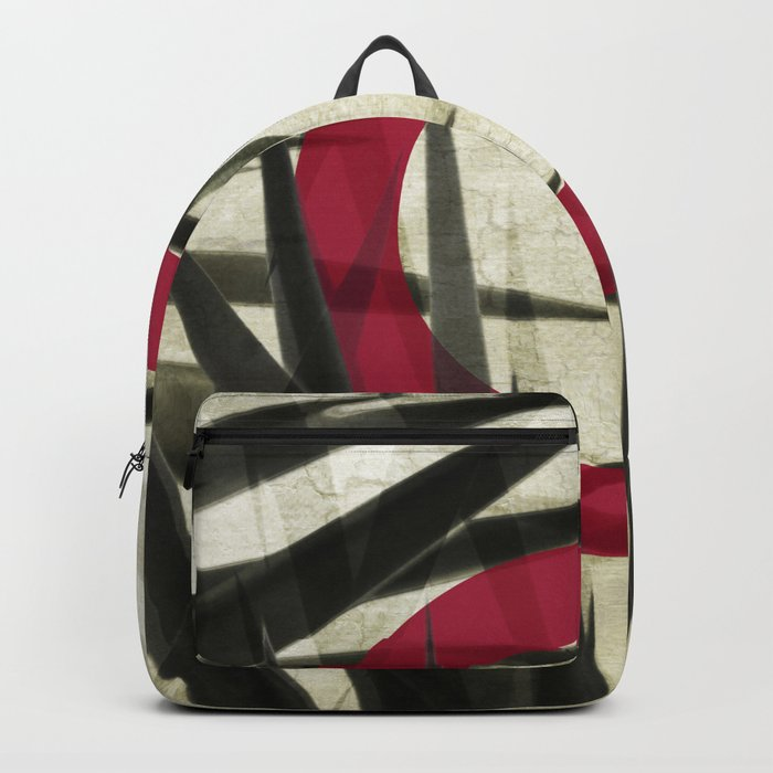 Yucca Leaves Abstract Backpack