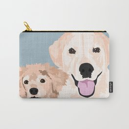 Carmen and Shelby Carry-All Pouch