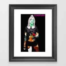 Courtney Love. Framed Art Print