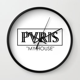 PVRIS  , My House Wall Clock
