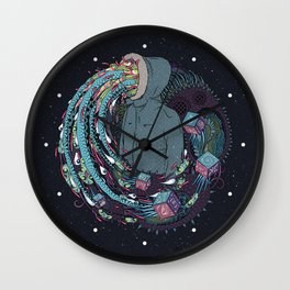 Mind Eruption Wall Clock