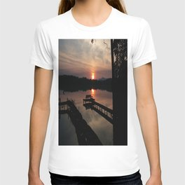 Quiet Morning on the Lake T-shirt