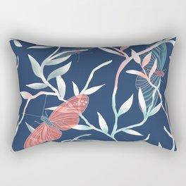 A butterfly's world Rectangular Pillow