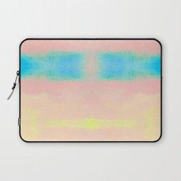 Watercolor Pastel Tides Blush Laptop Sleeve
