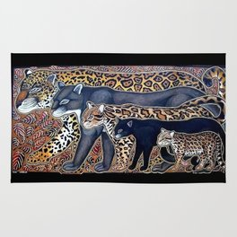 Big cats of Costa Rica Rug