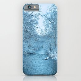 January River iPhone Case