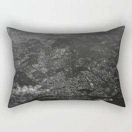 over structured world Rectangular Pillow