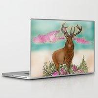 elk Laptop & iPad Skins featuring Elk by Hollyce Jeffriess Designs