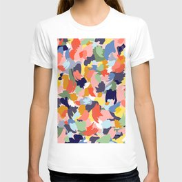 Bright Paint Blobs T-shirt
