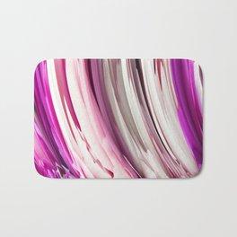 452 - Abstract Petals Design Bath Mat