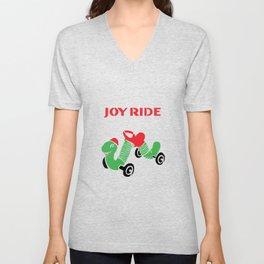 Vintage Inchworm Ride-On Toy Unisex V-Neck