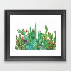 Cactus 12a Framed Art Print