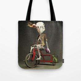 Skull bird Jeremy Tote Bag