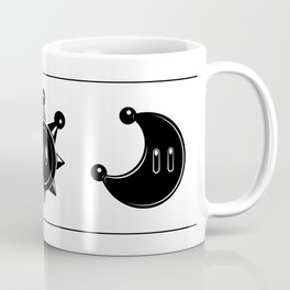 Star, Sun and Moon – Super Mario 64, Sunshine, Odyssey Coffee Mug
