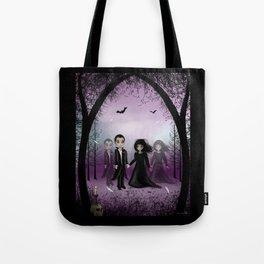Soul Mates Dark Gothic Romance Print Tote Bag