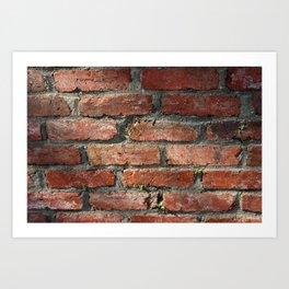 Brick v2 Art Print