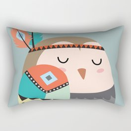 tribal bird Rectangular Pillow