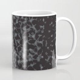 Black Cheetah Pattern Coffee Mug