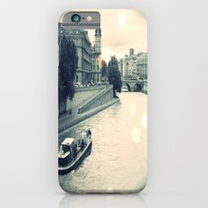 Floating gray Slim Case iPhone 6s