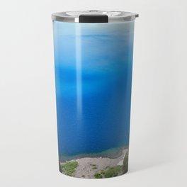 Crater Lake Cloud Reflection Travel Mug