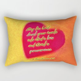Direct Your Hearts Rectangular Pillow